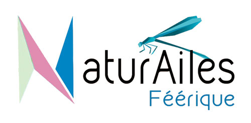 Natur'ailes logo bouteille verre sérigraphie saga décor