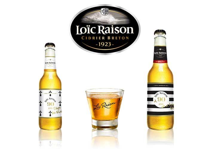 Sérigraphie SAGA Décor bouteille décorée cidre Loic Raison