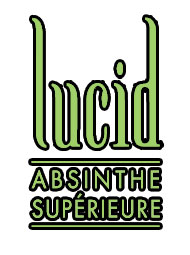 Lucid Absinthe Saga Décor Logo