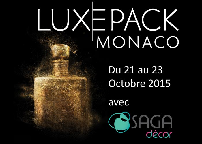 Luxe Pack Monaco SAGA Décor 2015 actualités