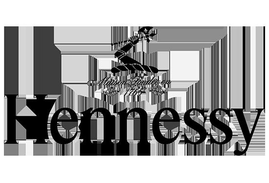 Hennessy Black SAGA Décor sérigraphie logo