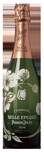 Belle Epoque Perrier Jouet sérigraphie SAGA Décor bouteille verre