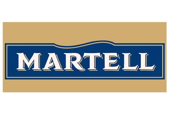Martell cognac sérigraphie bouteille verre alcool apéritif SAGA Décor