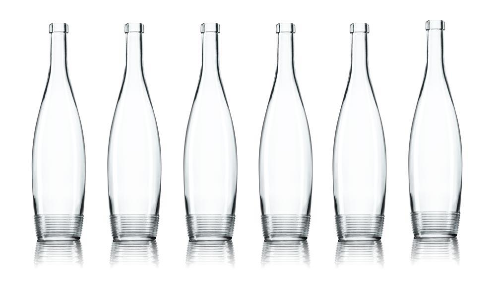SAGA Décor bouteille verre Selective Line Nairobi 6 décors