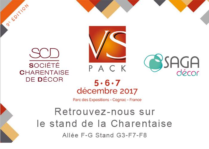 vspack cognac saga decor scd charentaise 5 7 decembre 2017