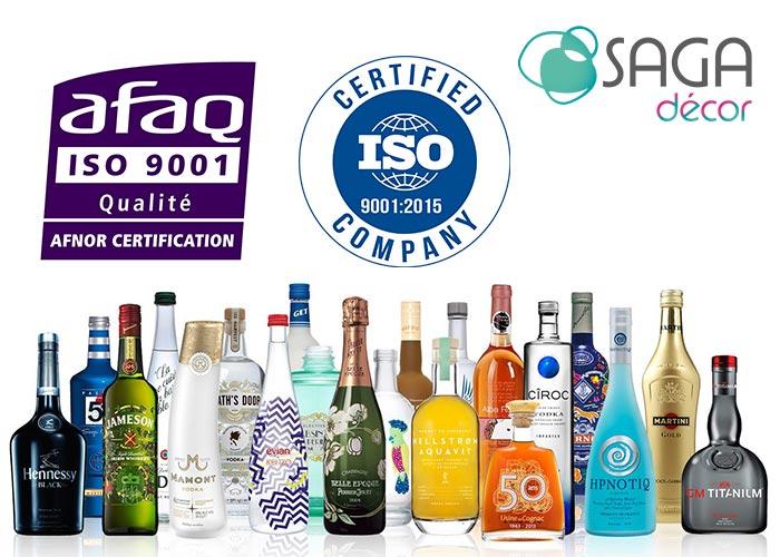 SAGA Décor vient de renouveler sa certification ISO 9001 : 2015 pour toujours mieux servir ses clients
